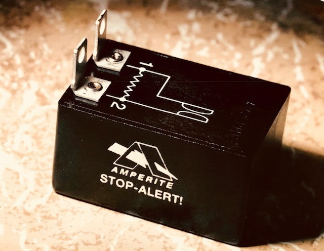 Amperite manufactures relays, flashers and timing controls, including Stop-Alert flashers.